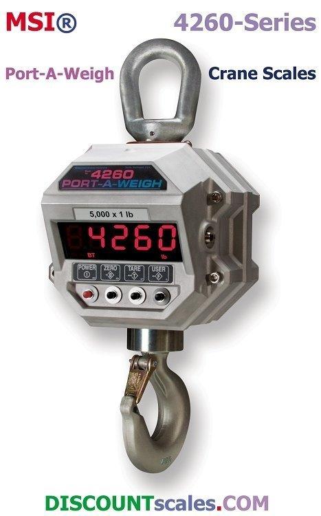 MSI 503413-0005 Crane Scale (20,000 lb. x 5 lb.)