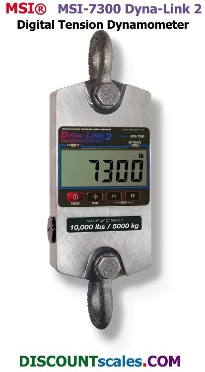 MSI 502967-0001 Digital Tension Dynamometer   (1,000 lb. x 0.5 lb. )
