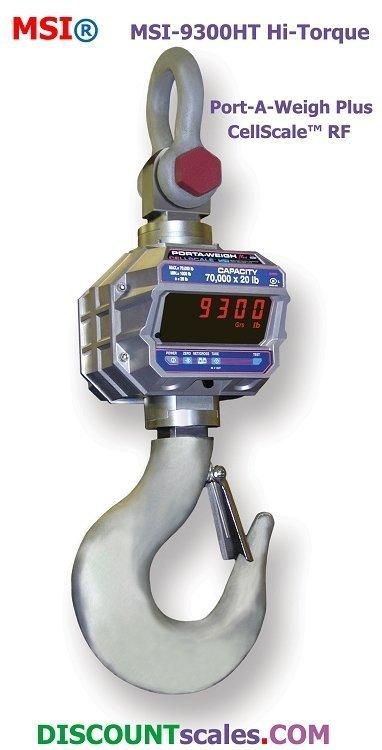 MSI 502519-0001 Crane Scale  (30,000 lb. x 10 lb.)