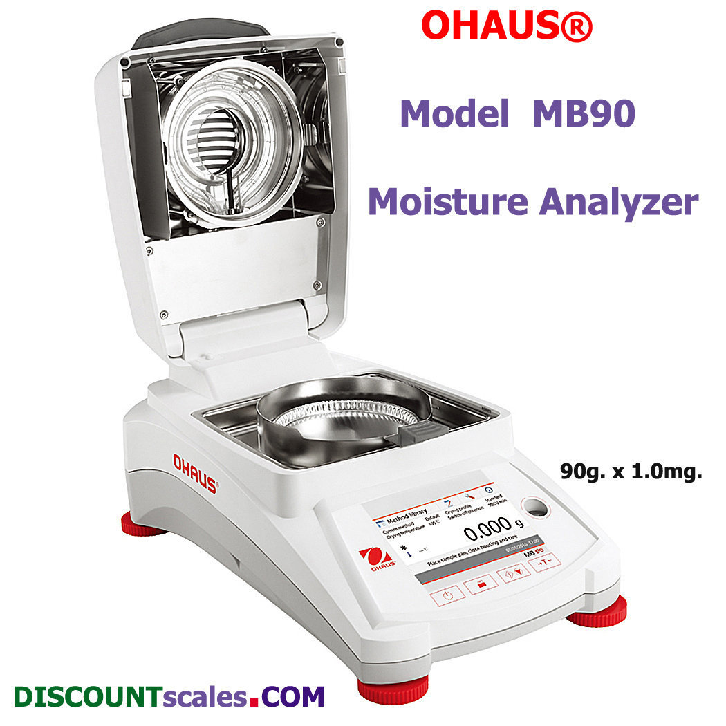 Ohaus® MB90 Moisture Analyzer (90g. x 0.001g.)