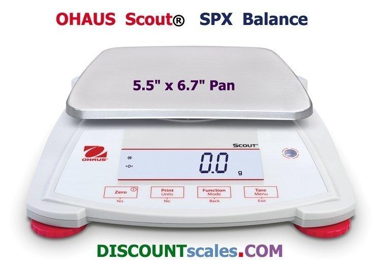 Ohaus® Scout™ SPX621 Balance  (620g. x 0.1g.)