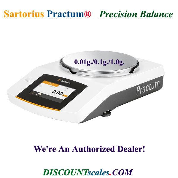 Sartorius® PRACTUM6100-1S Balance (6100g. x 1.0g.)