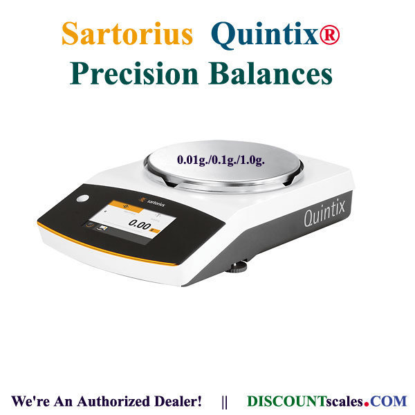 Sartorius® QUINTIX612-1S Balance (610g. x 0.01g.)