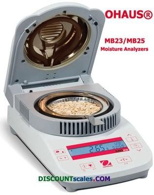 Ohaus® MB23 Moisture Analyzer (110g. x 0.01g.)