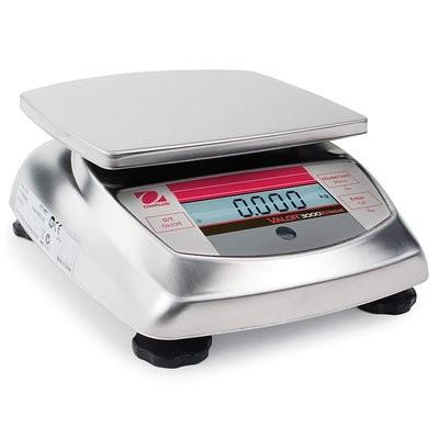 Ohaus® V31XW6 Valor™ 3000 Food Scale     (6000g. x 1.0g.)
