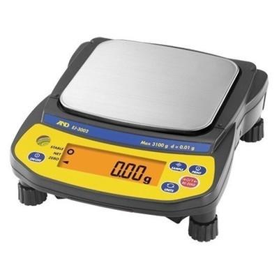 A&D Weighing® Newton™ EJ-2000 Balance (2100g. x 0.1g.)