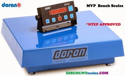 Doran® MVP41000 Bench Scale  (1000 lb. x 0.2 lb.)