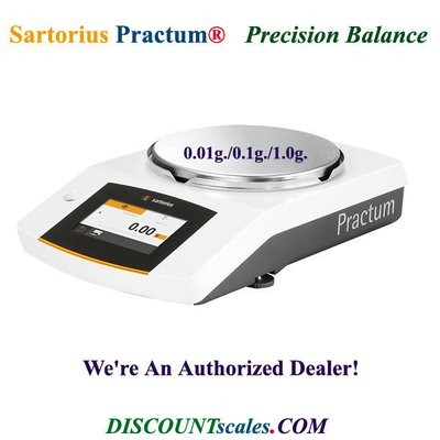 Sartorius® PRACTUM412-1S Balance (410g. x 0.01g.)