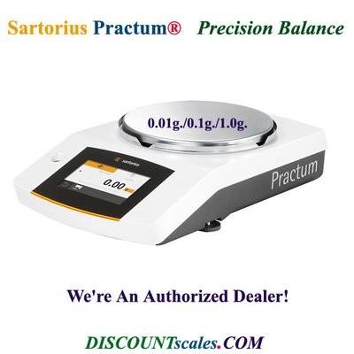 Sartorius® PRACTUM612-1S Balance (610g. x 0.01g.)