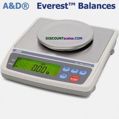 A&D Weighing® EK-200i Everest™ Balance  (200g. x 0.01g.)