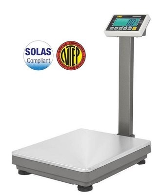 Intelligent Weighing® UFM-L600 'NTEP Approved' Bench Scale  (1200 lb. x 0.2 lb.)