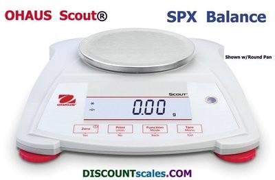 Ohaus® Scout™ SPX421 Balance  (420g. x 0.1g.)