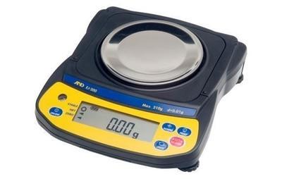 A&D Weighing® Newton™ EJ-200 Balance (210g. x 0.01g.)