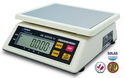 Intelligent Weighing® XM-1500 NTEP Food Scale   (1500g. x 0.5g.)