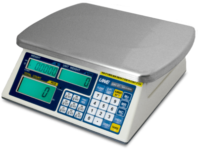 Intelligent Weighing® OAC-2.4 Counting Scale     (6 lb. x 0.0005 lb.)