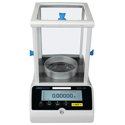 Adam Equipment® SAB 124e Solis™ Analytical Balance  (120g. x 0.1mg.)