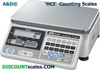 A&D Weighing® HC-30Ki Counting Scale (60 lb. x 0.01 lb.)