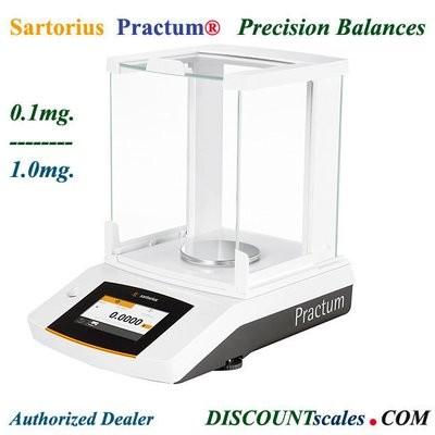 Sartorius® PRACTUM64-1S Analytical Balance  (60g. x 0.1mg.)