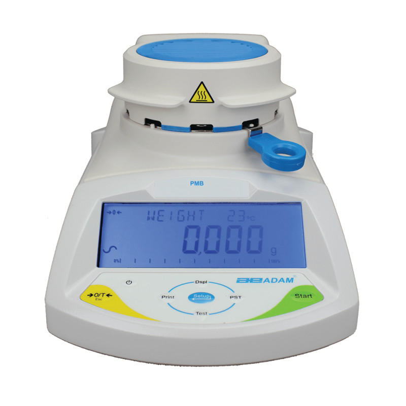 Adam Equipment® PMB 53 Moisture Analyzer (50g. x 0.001g / 0.01%)