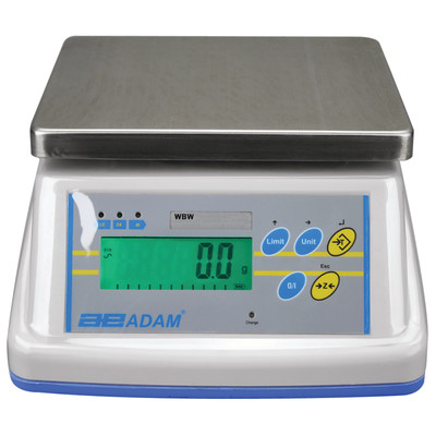 Adam Equipment® WBW 9a Washdown Scale    (9.0 lb. x 0.001 lb.)