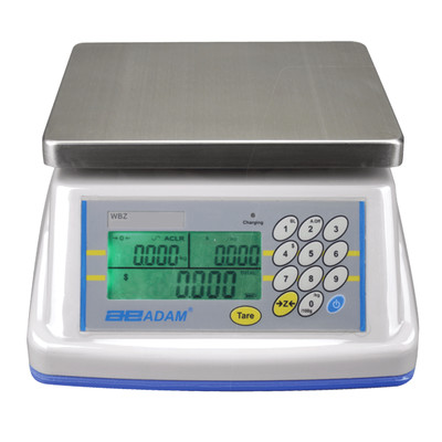 Adam Equipment® WBZ 15aM Washdown Retail Scale  (15.0 lb. x 0.005 lb.)