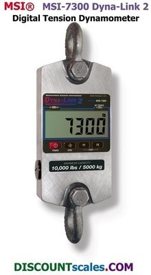 MSI 502967-0001 Digital Tension Dynamometer   (1,000 lb. x 0.5 lb. )