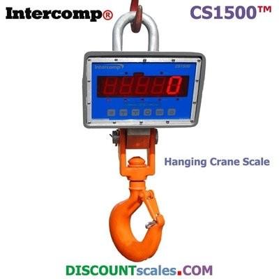 Intercomp® CS1500 Model 184516-RFX Crane Scale  (2000 lb. x 1.0 lb.)