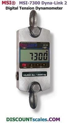 MSI 502967-0002 Digital Tension Dynamometer (2,500 lb. x 1.0 lb.)
