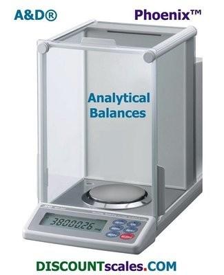 A&D Weighing® Phoenix™ GH-300 Analytical Balance  (320g. x 0.1mg.)