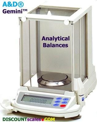 A&D Weighing® Gemini™ GR-200 Analytical Balance (210g. x 0.1mg.)