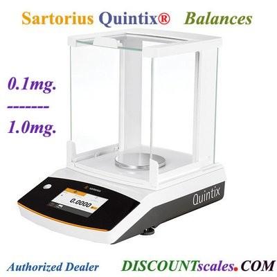 Sartorius® QUINTIX313-1S Milligram Balance  (310g. x 1.0mg.)