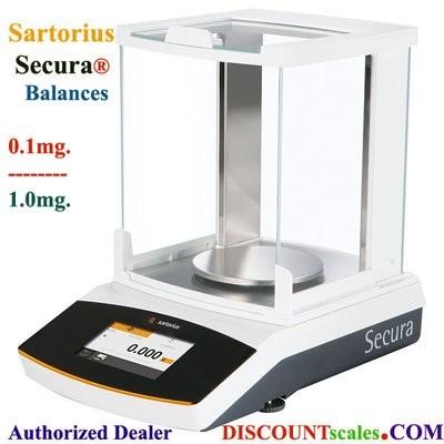 Sartorius® SECURA213-1S Milligram Balance (210g. x 1.0mg.)