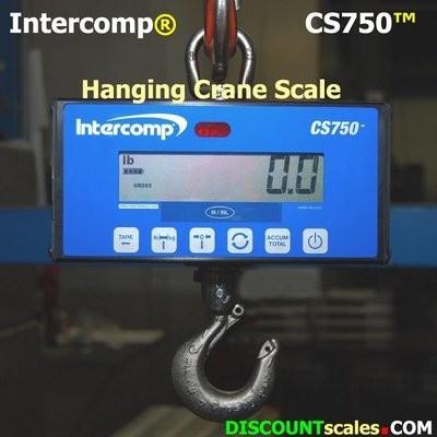 Intercomp® CS750 Model 184254 Crane Scale  (500 lb. x 0.2 lb.)