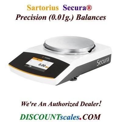 Sartorius® SECURA612-1S Balance (610g. x 0.01g.)