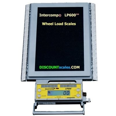 Intercomp® 182004-RFX Wireless Solar Wheel Load Scale |  (20,000 lb. x 20.0 lb.)