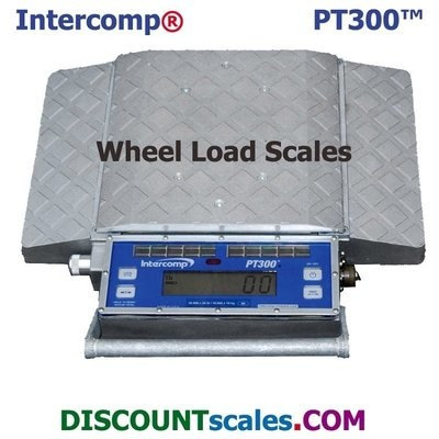 Intercomp® 181006-RFX Wireless Solar Wheel Load Scale  |  (5,000 lb. x 5.0 lb.)