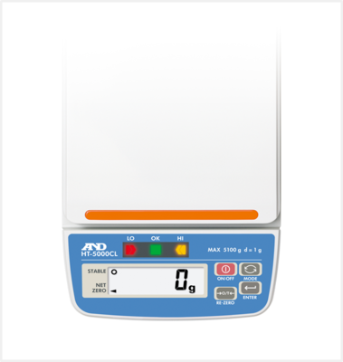A&D Weighing® HT-3000CL Compact Scale      (3100g. x 1.0g.)