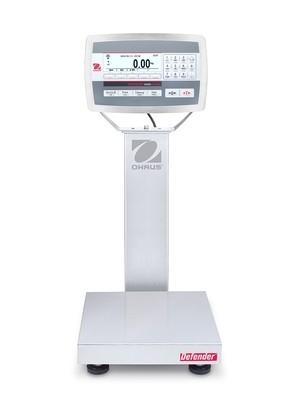 Ohaus® D52XW12WQS6 Defender™ 5000 Washdown Bench Scale  (25 lb. x 0.001 lb.)
