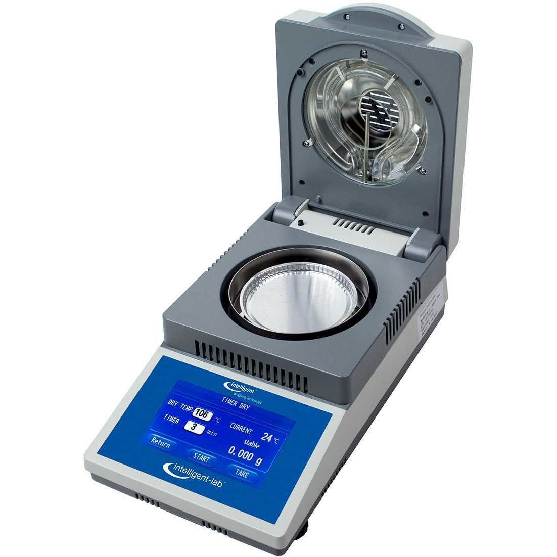 Intelligent Weighing® IL-50.001 TS Moisture Analyzer   (50g. x 0.001g. / 0.01% moisture)