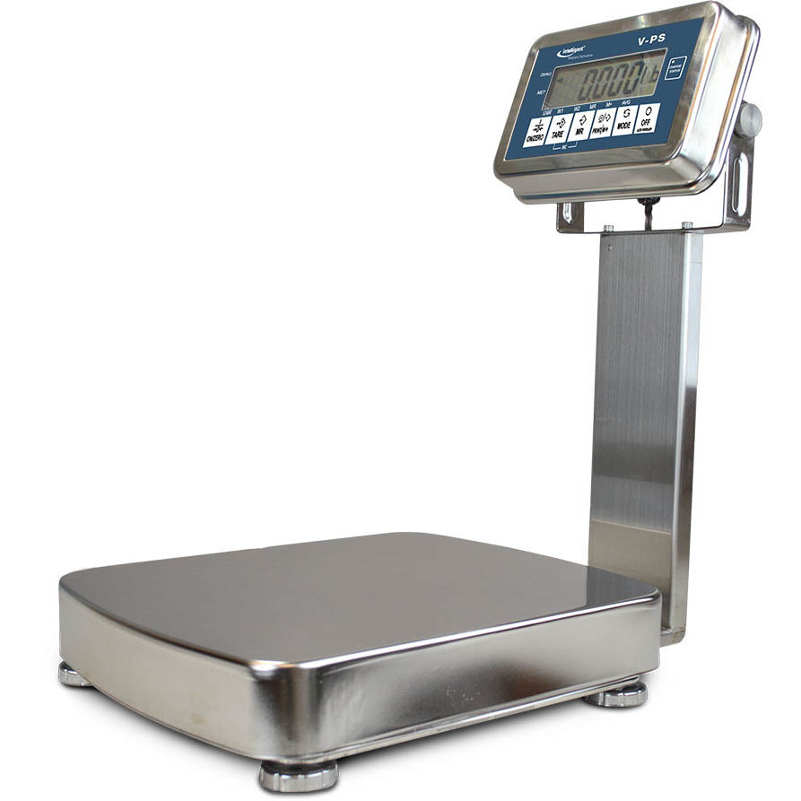 Intelligent Weighing® VPS-512K Washdown Bench Scale     (26.4 lb. x 0.005 lb.)