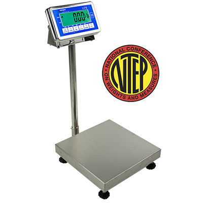 Intelligent Weighing® TitanH 50-16 Washdown Bench Scale  (50 lb. x 0.01 lb.)