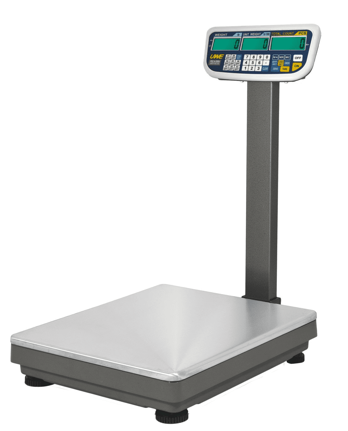 Intelligent Weighing® PSC-AL-750 Counting Scale      (750 lb. x 0.05 lb.)