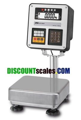 A&D Weighing® HW-10KCEP Explosion-Proof Scale {20 lb. x 0.002 lb.}