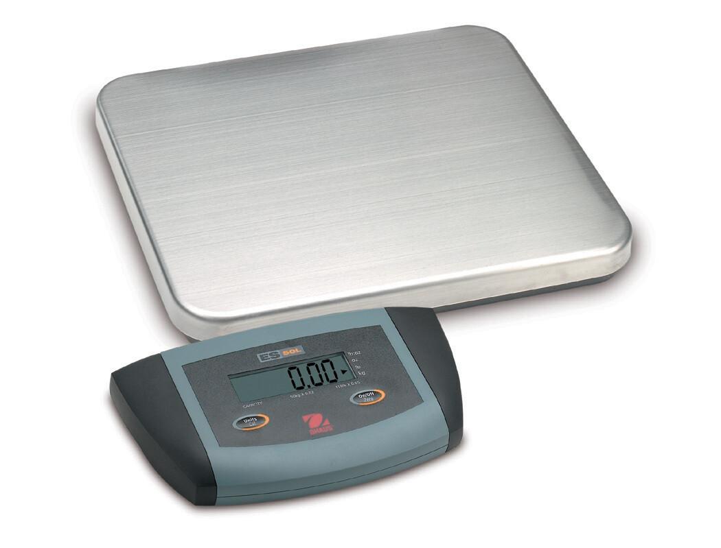 Ohaus® ES6R Low-Profile Bench Scale  (13 lb. x 0.005 lb.)