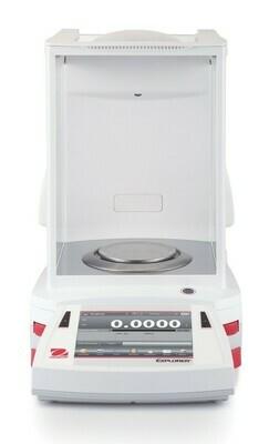 Ohaus® EX225D Semi-Micro Explorer™ Balance  |  (120g. x 0.01mg. + 220g. x 0.1mg.)