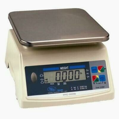 Yamato® PPC-200W-10 Washdown Portion Control Scale (10.0 lb. x 0.005 lb.) -  'NTEP Approved' ONLY $368!