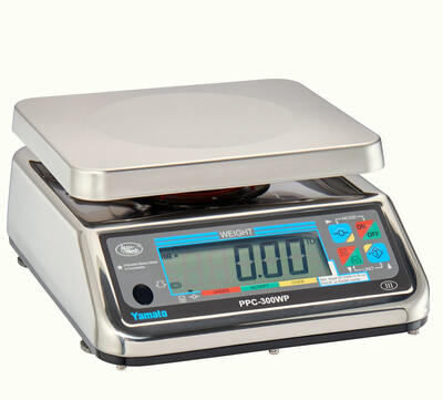 Yamato® PPC-300WP-10 Washdown Portion Control Scale (10 lb. x 0.005 lb.) -  'NTEP Approved' ONLY $409.97!