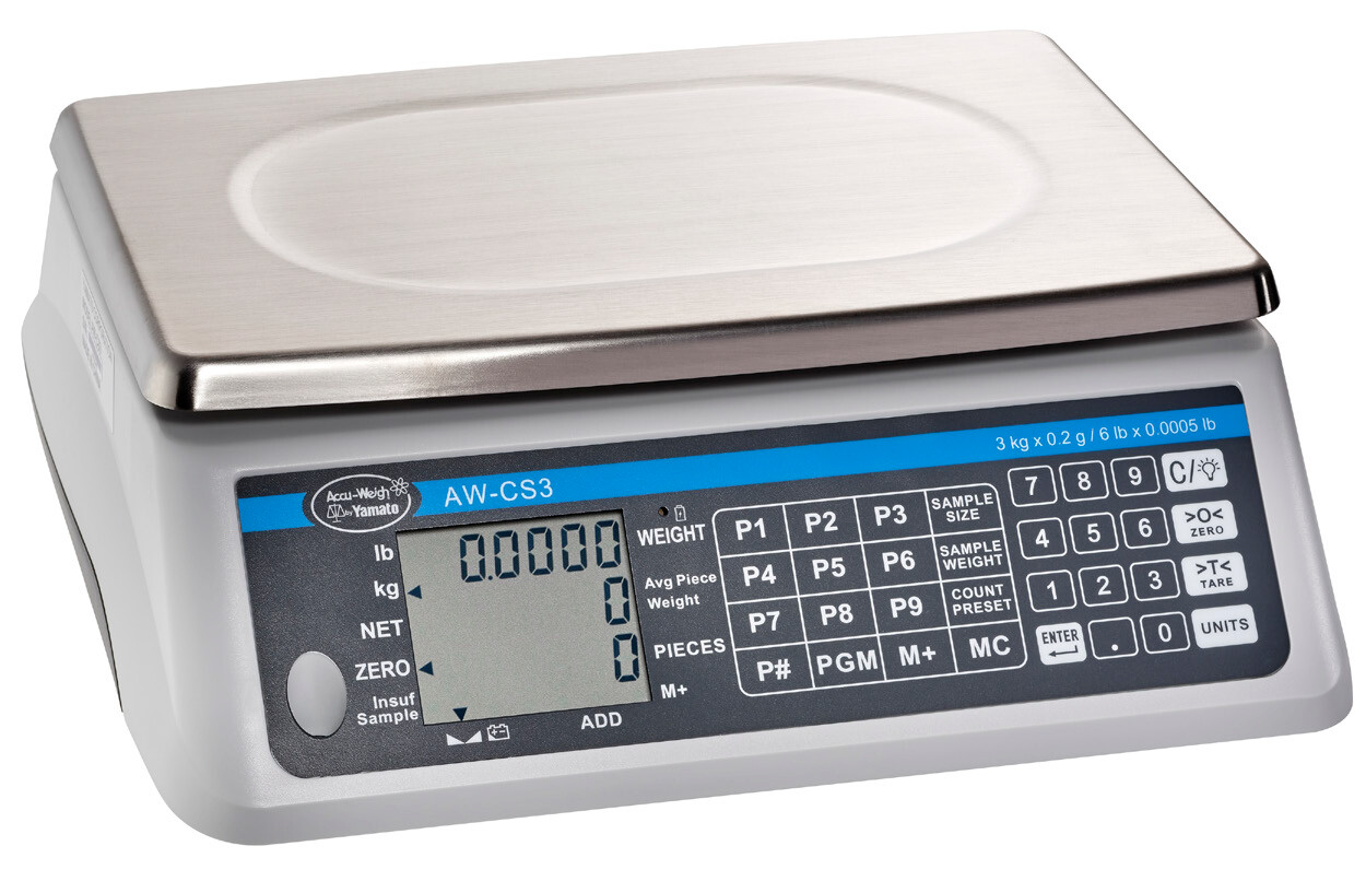Yamato® AW-CS 6kg Counting Scale    (12 lb. x 0.001 lb.) Only $419!