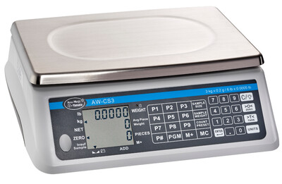 Yamato® AW-CS 3kg Counting Scale    (6 lb. x 0.0005 lb.) Only $419!