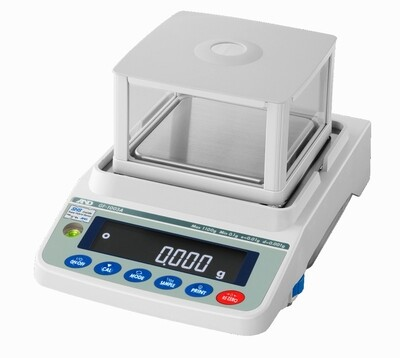 A&D Weighing® GX-1603A Milligram Apollo™ Balance (1000g. x 1.0mg. | 1600g. x 0.002g.)